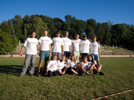 Команда Охота натурнире ОЧУ 2009 (ОД, 7/12)
