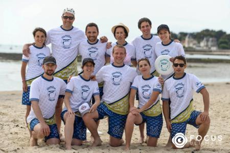 Команда Zérogêne натурнире Yes But Nau 2017 (Open, 17/20)