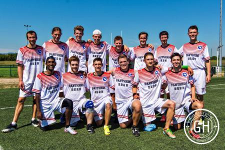 Команда Panthers Bern натурнире EUCR-S O+W 2016 (ОД, 11/12)