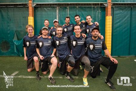 Команда Headless Ultimate Zürich на турнире Big Up! 2018 (ОД, 10/16)