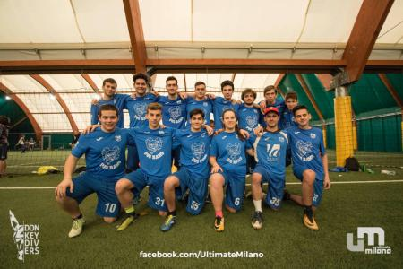 Команда PGS Ultimate Frisbee на турнире Big Up! 2018 (ОД, 13/16)