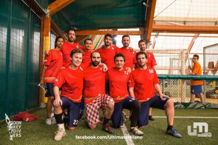 Команда Ziggles Ultimate Frisbee Antibes на турнире Big Up! 2018 (ОД, 15/16)