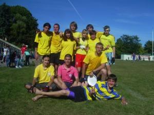 Команда Madcaps натурнире ОЧУ 2009 (ОД, 10/12)