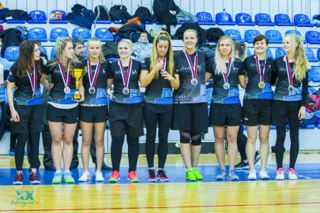 Команда Salaspils FK натурнире Лорд Новгород 2018 (ЖД, 2/16)