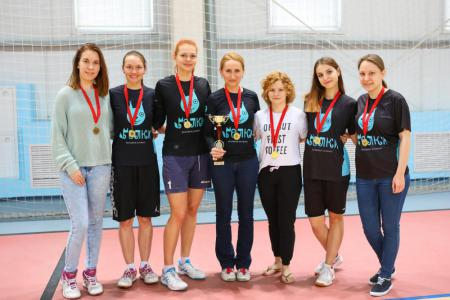Команда БелГУ-tyro натурнире BEST 2018 (ЖД, 5/6)