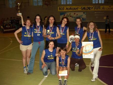 Команда Молодые натурнире Лорд Новгород 2006 (ЖД, 2/8)