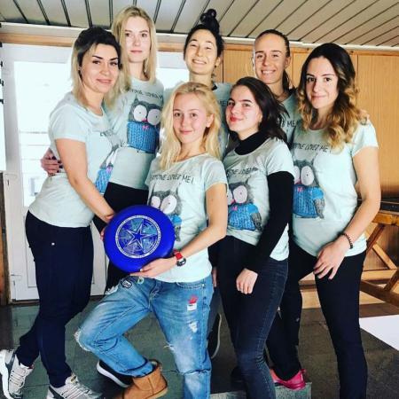 Команда Спорт i women натурнире Южный полюс 7 (ОД, 12/13)