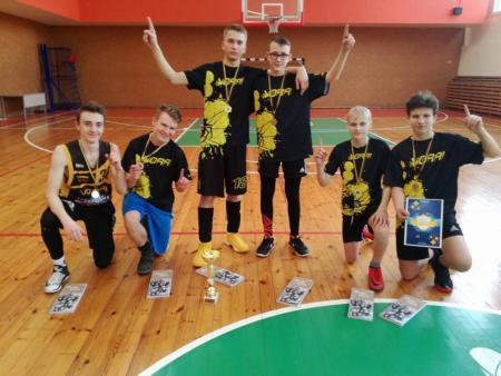 Команда Vilniaus Trakų Vokės gimnazija натурнире LUCi 2018 Junior (OU17, 1/4)