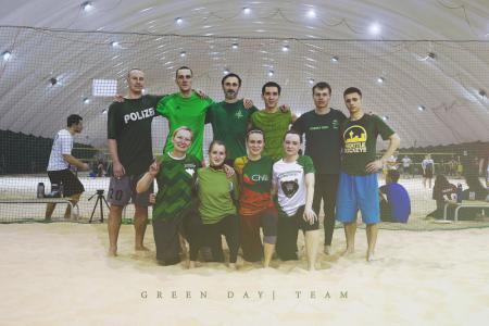 Команда Green Day натурнире Hat Trick 2018 (МД, 7/8)