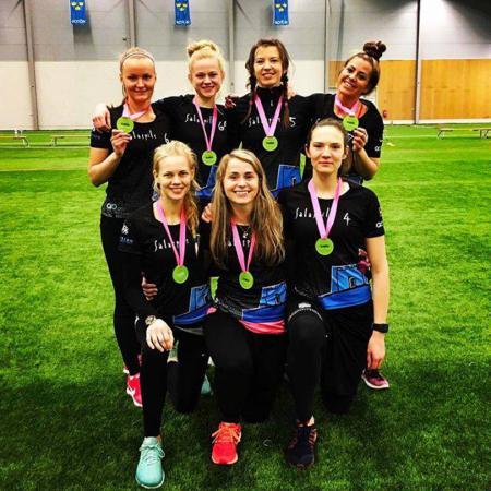 Команда Salaspils FK натурнире Hello Stockholm 2018 (ЖД, 3/20)