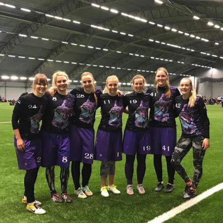 Команда Lynx натурнире Hello Stockholm 2018 (ЖД, 11/20)
