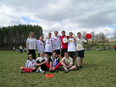 Команда Disk-o-teka натурнире ZARAZA 2005 (ОД, 5/8)