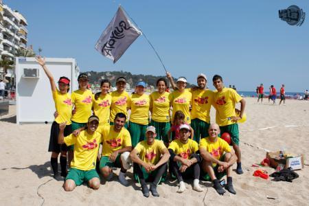 Команда Guayota, Spain натурнире Costa Brava 2011 (МД, 1/24)