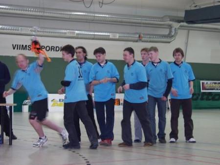 Команда Скай Про натурнире Kick in de Kök 2005 (ОД, 3/12)