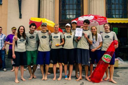 Команда Catchup Graz натурнире Sandsplash 2013 (МД, 1/12)