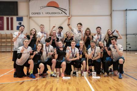 Команда Salaspils WT натурнире BUCCi 2018 (ОД, 1/4)