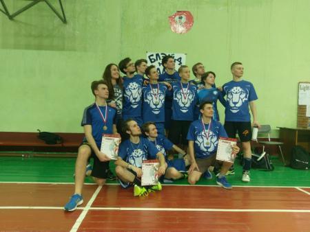 Команда ИТМО-2 натурнире Чемпионат СПбГУ 2018 (ОД, 4/10)