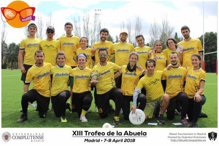 Команда Disckatus натурнире XIII Trofeo de la Abuela 2018 (МД, 3/12)
