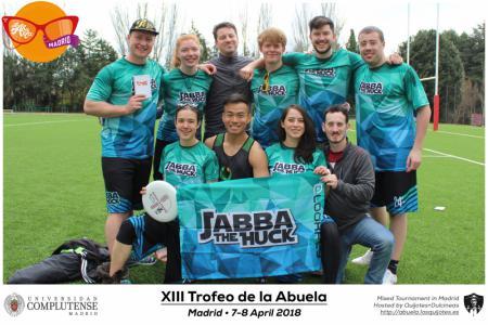 Команда Jabba the Huck натурнире XIII Trofeo de la Abuela 2018 (МД, 10/12)