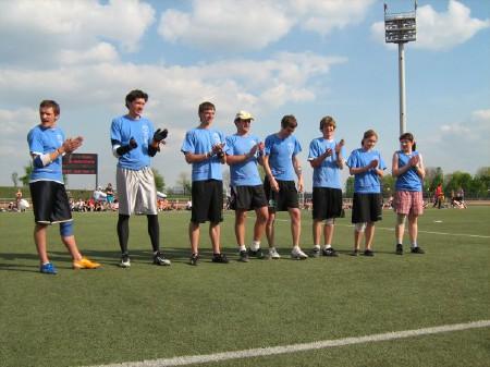 Команда Буратины натурнире МФЛД 2008 (1 дивизион, 2/12)