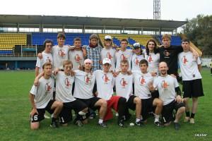 Команда ЮПитер натурнире ОЧР 2009 (ОД, 5/12)