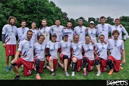 Команда France Ultimate Mixed натурнире Talampaya 2016 (Mixed, 2/18)