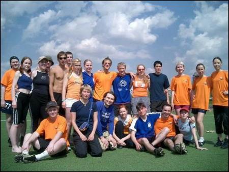 Команда Апельсин натурнире МФФ (МФЛД) 2004 (Микс дивизион, 2/12)