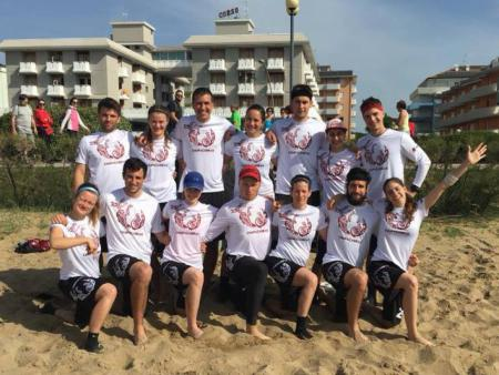 Команда CHUPACABRAS натурнире Bibione Beach Challenge 2018 (МД, 13/46)