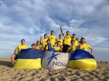 Команда Нова натурнире Bibione Beach Challenge 2018 (ОД, 1/7)