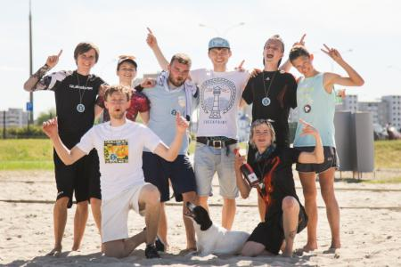 Команда Тайдириум натурнире Spring Beach Hat 2018 (МД, 1/10)