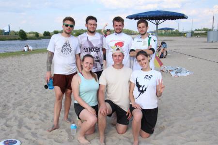 Команда Сулако натурнире Spring Beach Hat 2018 (МД, 9/10)