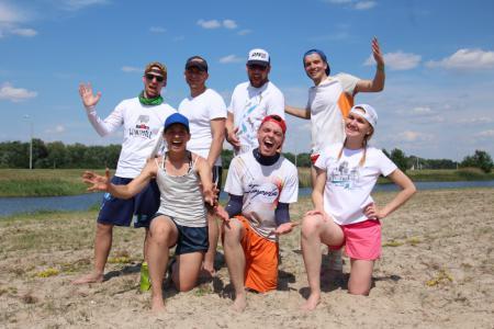 Команда Нубиан натурнире Spring Beach Hat 2018 (МД, 4/10)