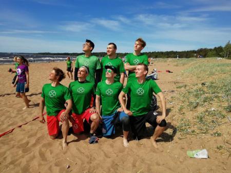 Команда LuckyGrass натурнире Вызов Питера 2018 ПЧР (ОД, 15/20)
