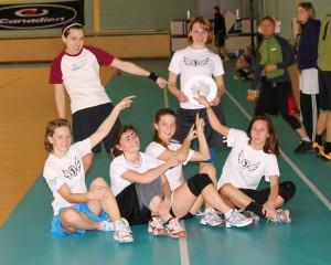 Команда Флаинг Степс натурнире Rigas Rudens 2011 (ЖД, 10/10)