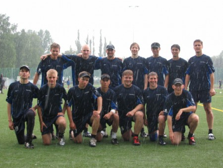 Команда Sipoo Odd Stars натурнире EUCC 2005 (ОД, 5/32)