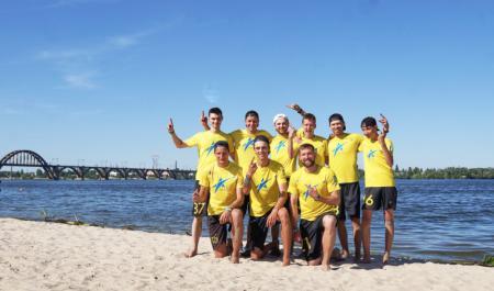 Команда Nova V606 натурнире Dnipro Beach 2018 (ОД, 1/9)