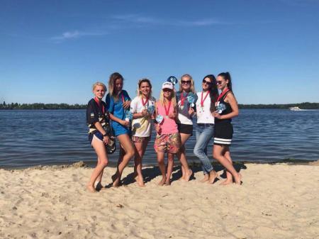 Команда Спорт I girlzzz натурнире Dnipro Beach 2018 (ОД, 9/9)