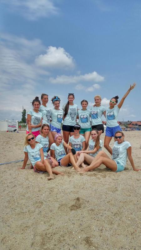 Команда Спорт i натурнире Ukraine Beach Open (ПЧУ) 2018 (ЖД, 6/7)
