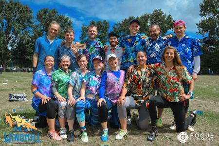 Команда Administrators натурнире Windmill Windup 2018 (МД, 14/40)