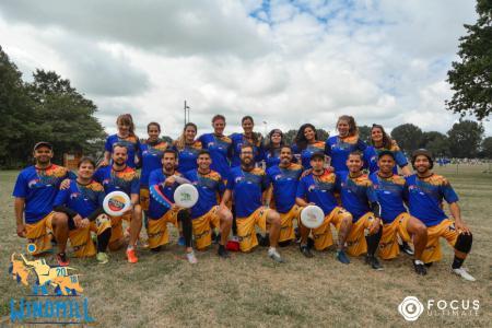 Команда Panas ultimate Dream Team натурнире Windmill Windup 2018 (МД, 27/40)