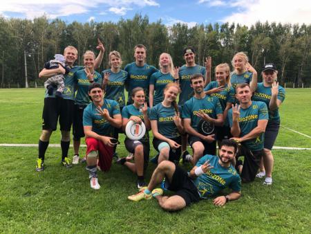 Команда BioZONe натурнире II этап МЛР 2018 (МД, 3/9)