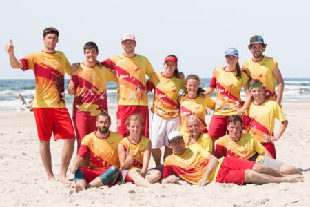 Команда Yellow fever натурнире SUN BEAM 2018 (МД, 5/23)