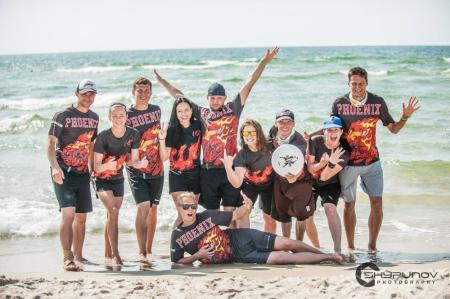 Команда Phoenix натурнире SUN BEAM 2018 (МД, 6/23)