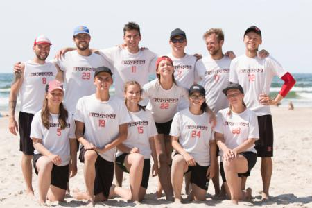 Команда Sirocco натурнире SUN BEAM 2018 (МД, 9/23)