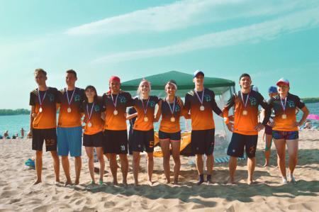 Команда Самарские Рыси натурнире II этап UBUL 2018 (МД, 1/7)