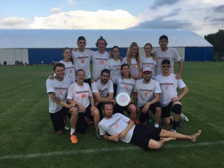Команда Sirocco Ultimate натурнире EUCR-N 2018 (МД, 2/4)