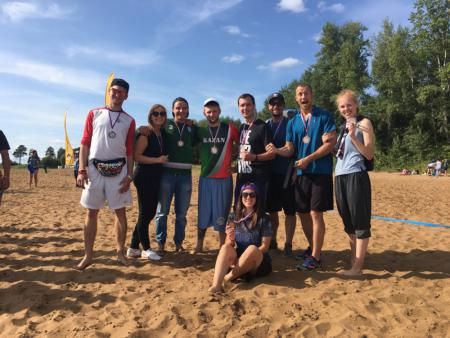 Команда Челябинск натурнире III этап UBUL 2018 (МД, 3/6)