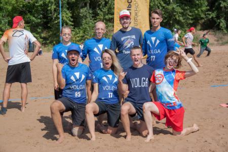 Команда Volga River натурнире III этап UBUL 2018 (МД, 6/6)