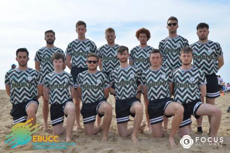 Команда SandJob натурнире EBUCC 2018 (ОД, 14/16)