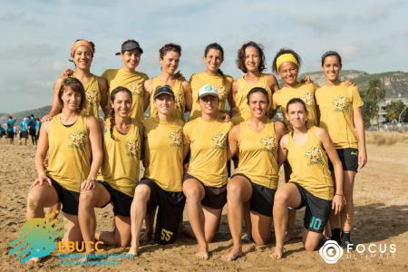 Команда Cremas натурнире EBUCC 2018 (ЖД, 7/16)